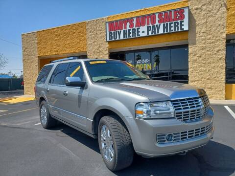 2008 Lincoln Navigator for sale at Marys Auto Sales in Phoenix AZ