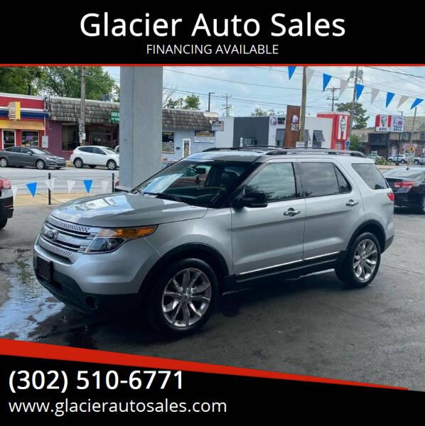 2013 Ford Explorer for sale at Glacier Auto Sales in Wilmington DE
