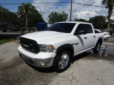 2016 RAM Ram Pickup 1500 for sale at S & T Motors in Hernando FL