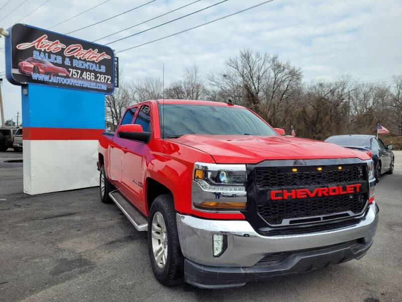 2017 Chevrolet Silverado 1500 for sale at Auto Outlet Sales and Rentals in Norfolk VA