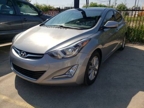 2016 Hyundai Elantra for sale at Best Royal Car Sales in Dallas TX