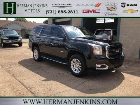 2017 GMC Yukon for sale at Herman Jenkins Used Cars in Union City TN