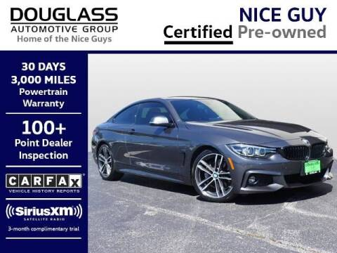 2019 BMW 4 Series for sale at Douglass Automotive Group - Douglas Volkswagen in Bryan TX