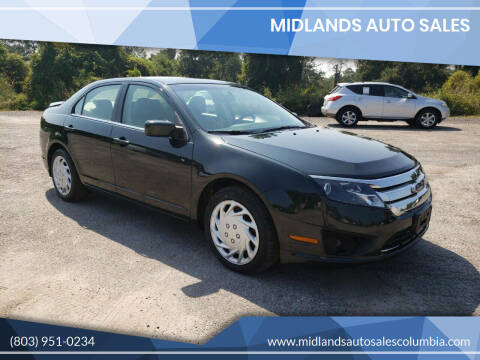 2010 Ford Fusion for sale at Midlands Auto Sales in Lexington SC