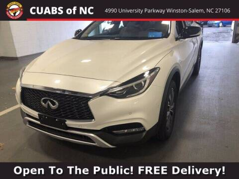 2018 Infiniti QX30 for sale at Credit Union Auto Buying Service in Winston Salem NC