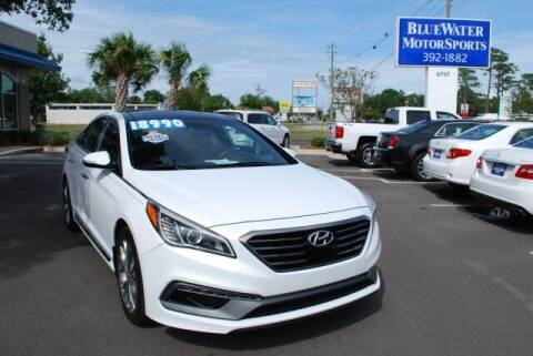 2015 Hyundai Sonata for sale at BlueWater MotorSports in Wilmington NC