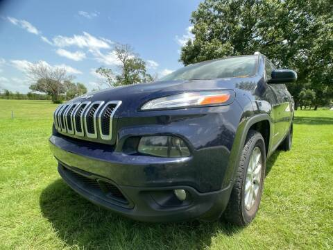 2015 Jeep Cherokee for sale at Carz Of Texas Auto Sales in San Antonio TX