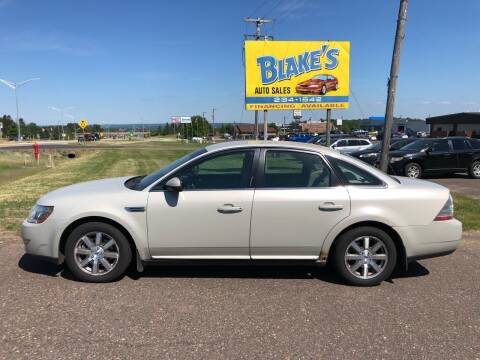 2008 Ford Taurus for sale at Blake's Auto Sales in Rice Lake WI