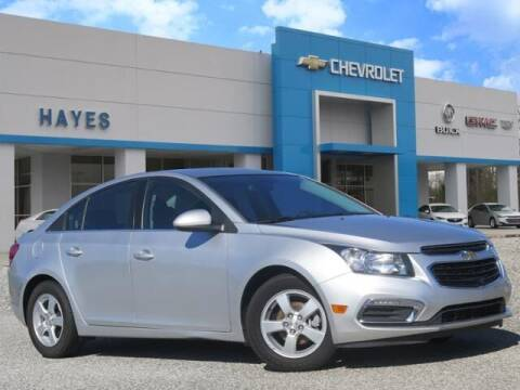 2016 Chevrolet Cruze Limited for sale at HAYES CHEVROLET Buick GMC Cadillac Inc in Alto GA