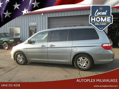 2007 Honda Odyssey for sale at Autoplex 2 in Milwaukee WI