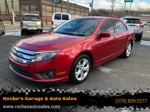 2012 Ford Fusion for sale at Roche's Garage & Auto Sales in Wilkes-Barre PA