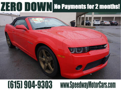 2015 Chevrolet Camaro for sale at Speedway Motors in Murfreesboro TN
