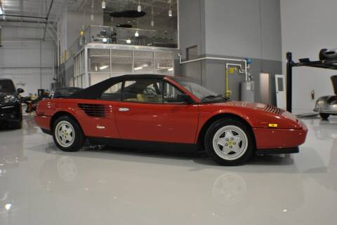 1988 Ferrari Mondial Cabriolet for sale at Euro Prestige Imports llc. in Indian Trail NC