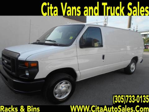 2012 Ford E-150 for sale at Cita Auto Sales in Medley FL