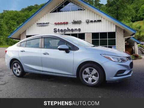 2018 Chevrolet Cruze for sale at Stephens Auto Center of Beckley in Beckley WV