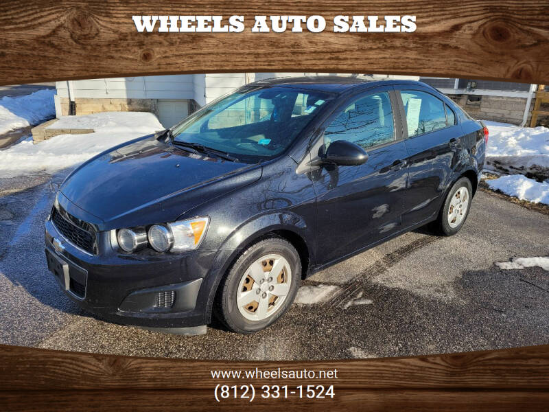 2013 Chevrolet Sonic for sale at Wheels Auto Sales in Bloomington IN