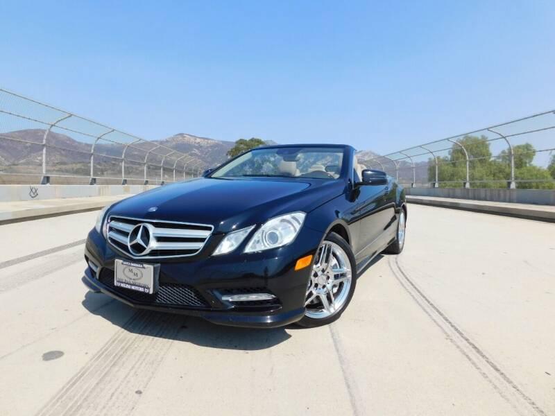 2013 Mercedes-Benz E-Class for sale at Milpas Motors in Santa Barbara CA