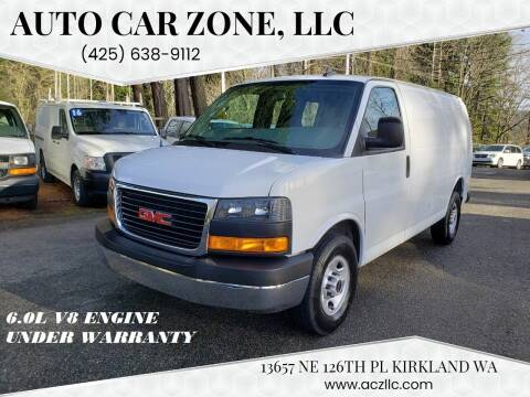 2019 GMC Savana Cargo for sale at Auto Car Zone, LLC in Kirkland WA