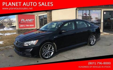 2018 Volkswagen Passat for sale at PLANET AUTO SALES in Lindon UT