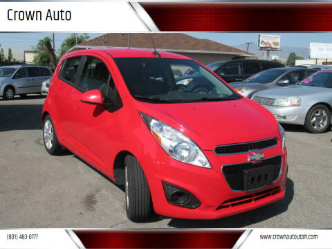 2014 Chevrolet Spark for sale at Crown Auto in South Salt Lake City UT
