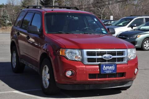 2011 Ford Escape for sale at Amati Auto Group in Hooksett NH