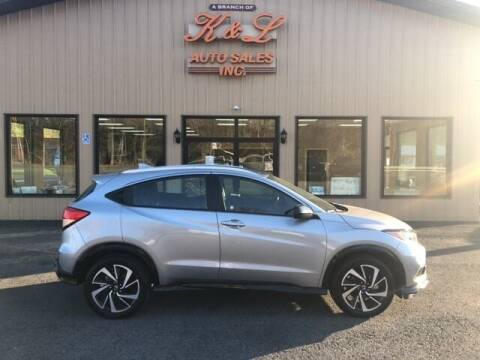 2019 Honda HR-V for sale at K & L AUTO SALES, INC in Mill Hall PA