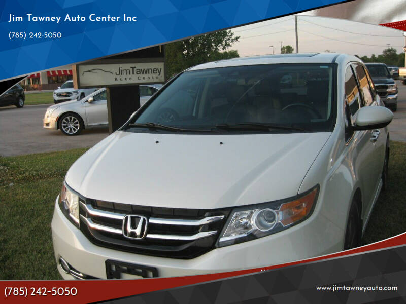 2014 Honda Odyssey for sale at Jim Tawney Auto Center Inc in Ottawa KS