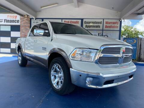 2018 RAM Ram Pickup 1500 for sale at ELITE AUTO WORLD in Fort Lauderdale FL