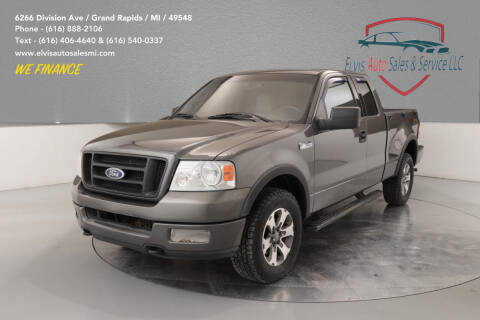 2004 Ford F-150 for sale at Elvis Auto Sales LLC in Grand Rapids MI