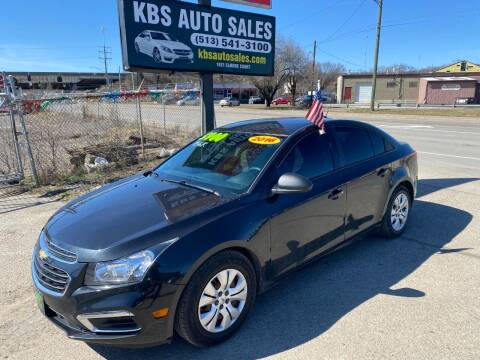 2016 Chevrolet Cruze Limited for sale at KBS Auto Sales in Cincinnati OH