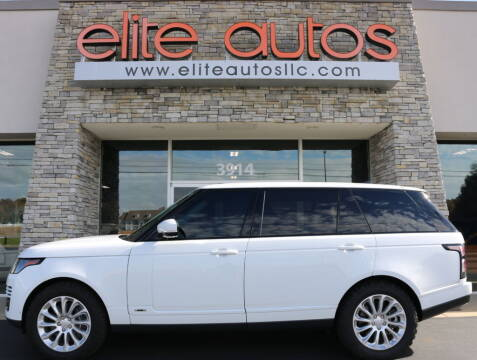 2018 Land Rover Range Rover for sale at Elite Autos LLC in Jonesboro AR