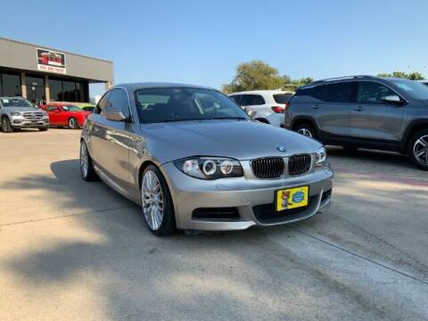 2010 BMW 1 Series for sale at KIAN MOTORS INC in Plano TX