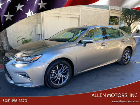2017 Lexus ES 350 for sale at Allen Motors, Inc. in Thousand Oaks CA