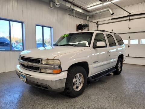 2003 Chevrolet Tahoe for sale at Sand's Auto Sales in Cambridge MN