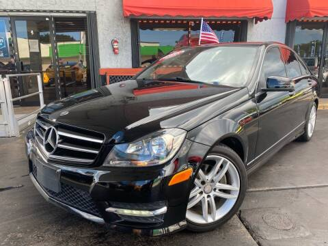 2014 Mercedes-Benz C-Class for sale at MATRIX AUTO SALES INC in Miami FL
