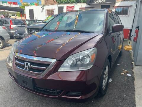 2007 Honda Odyssey for sale at Gallery Auto Sales in Bronx NY