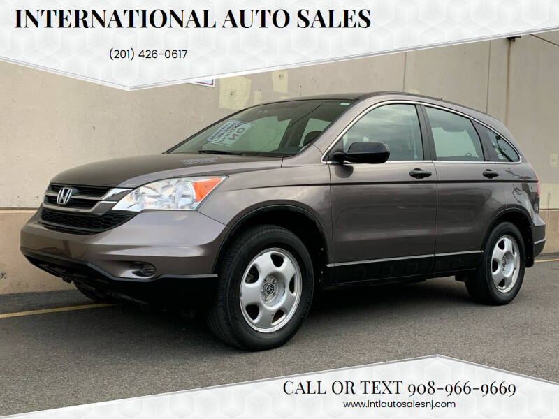 2010 Honda CR-V for sale at International Auto Sales in Hasbrouck Heights NJ