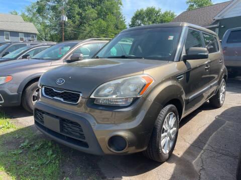 2012 Kia Soul for sale at Connecticut Auto Wholesalers in Torrington CT