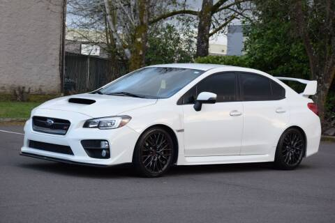 2015 Subaru WRX for sale at Beaverton Auto Wholesale LLC in Aloha OR