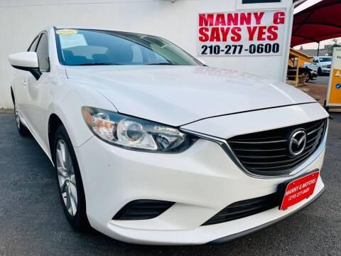2015 Mazda MAZDA6 for sale at Manny G Motors in San Antonio TX
