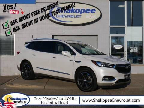 2018 Buick Enclave for sale at SHAKOPEE CHEVROLET in Shakopee MN