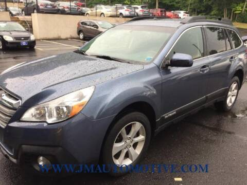 2014 Subaru Outback for sale at J & M Automotive in Naugatuck CT