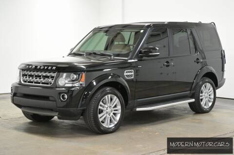 2016 Land Rover LR4 for sale at Modern Motorcars in Nixa MO