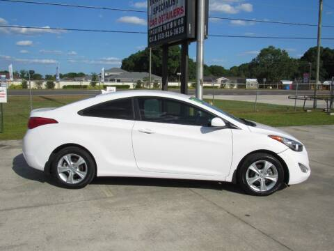 2013 Hyundai Elantra Coupe for sale at Checkered Flag Auto Sales NORTH in Lakeland FL