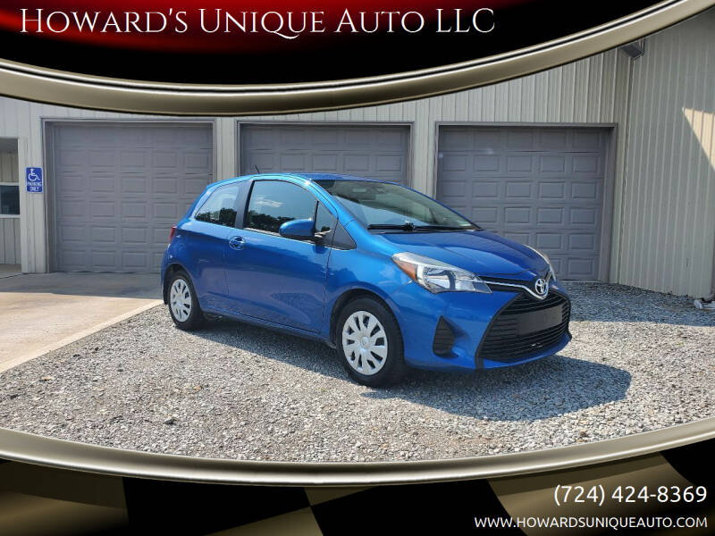 2017 Toyota Yaris for sale at Howard's Unique Auto LLC in Mount Pleasant PA