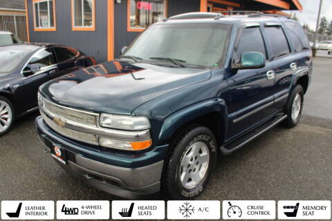 2005 Chevrolet Tahoe for sale at Sabeti Motors in Tacoma WA