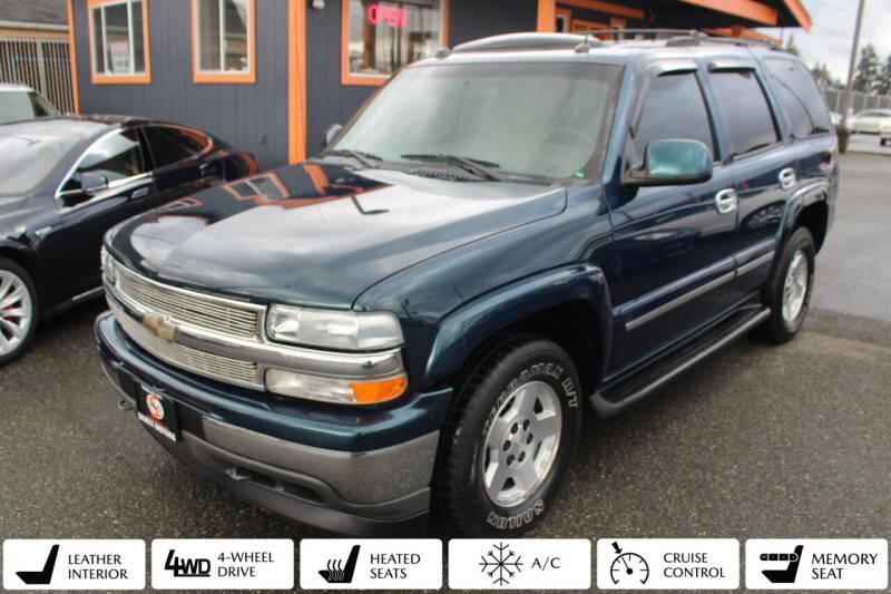 2005 Chevrolet Tahoe for sale at Sabeti Motors in Tacoma WA