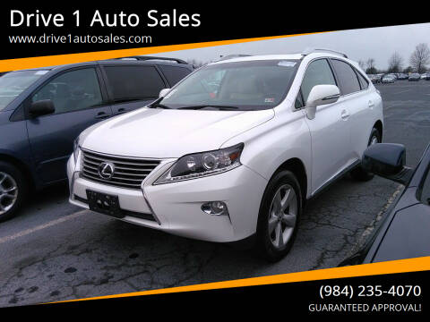 2015 Lexus RX 350 for sale at Drive 1 Auto Sales in Wake Forest NC