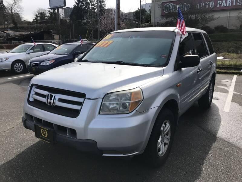 2006 Honda Pilot for sale at Bayview Motor Club, LLC in Seatac WA