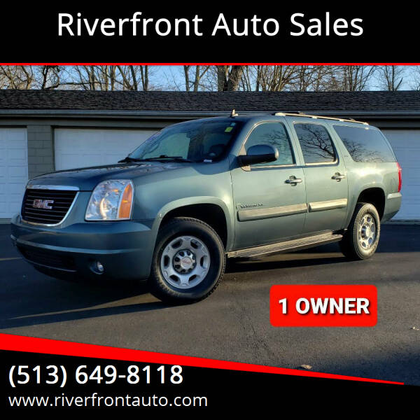 2009 GMC Yukon XL for sale at Riverfront Auto Sales in Middletown OH